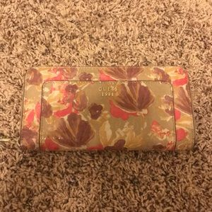 Brand New floral GUESS wallet wristlet